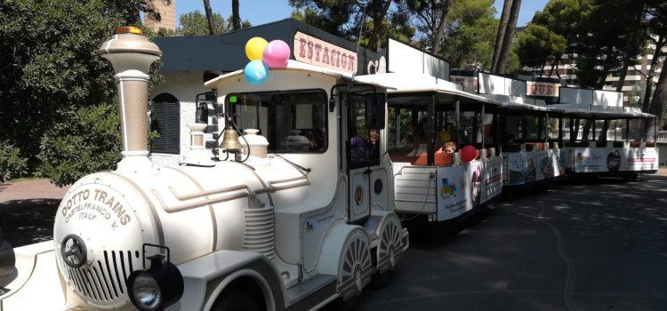 Tren Chu Chu Parque José Antonio Labordeta