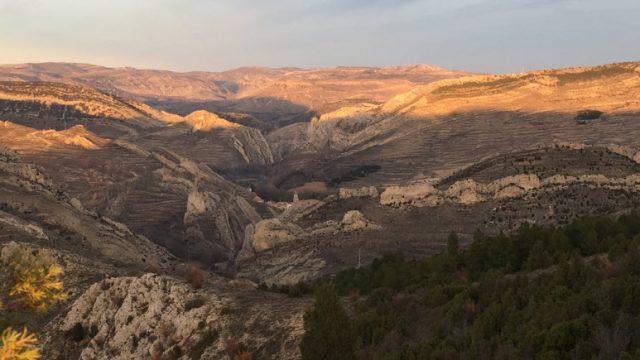 El Parque Geológico de Aliaga